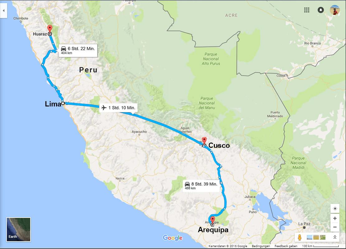 Peru-map - mrneveroff - Nico Moroff Photo und Video