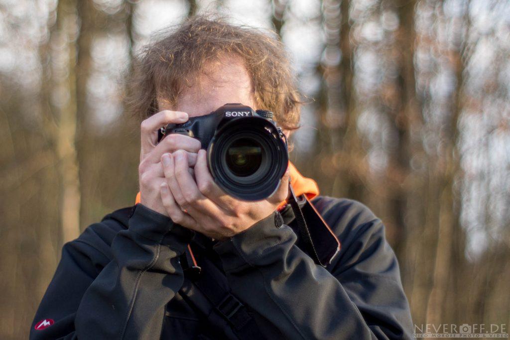 Haltung Kamera