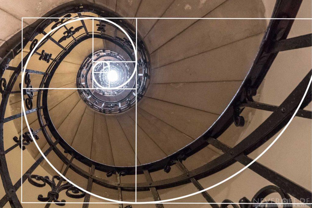 Treppenhaus Fibonacci