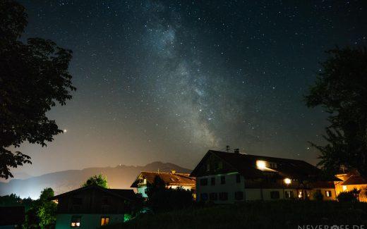 Milky Way Maria Rain