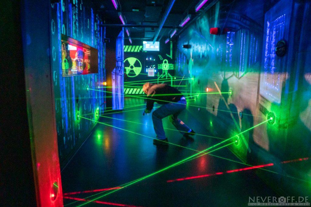Spionage Museum Berlin, Laserlabyrinth