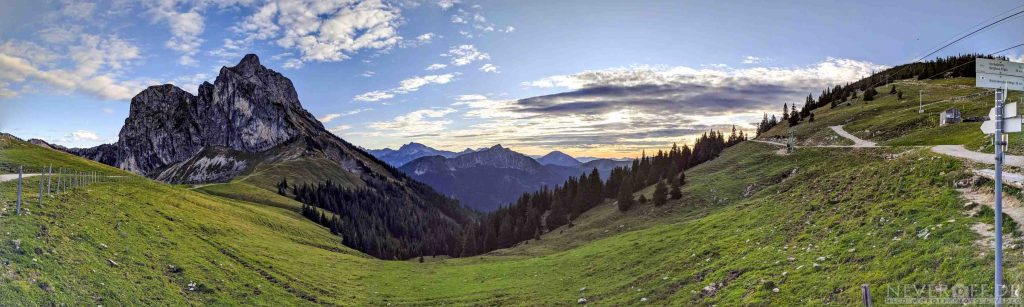 Panorama Bergstation Breitenberg