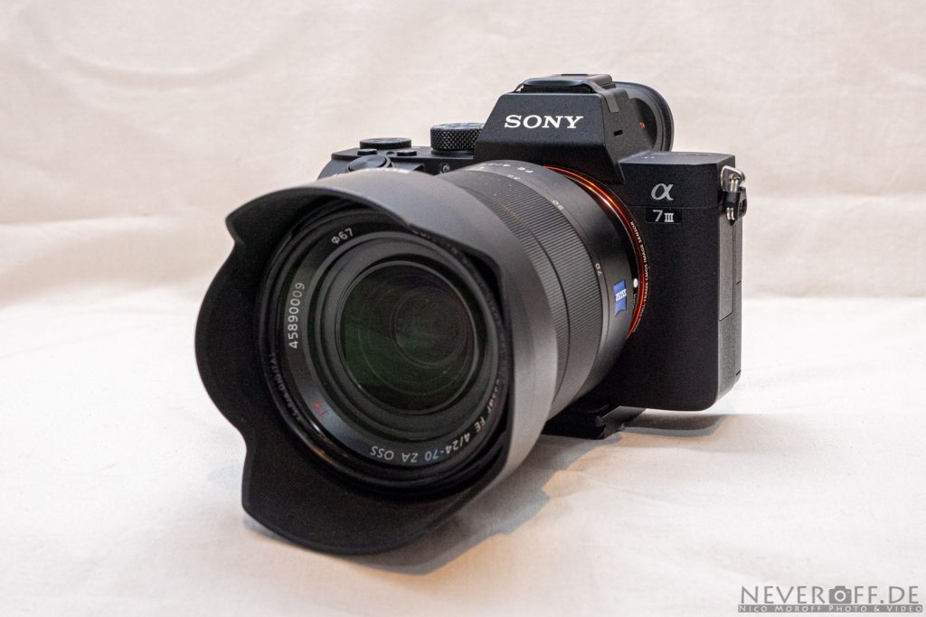 Sony a7iii mit Zeiss 24-70/f4
